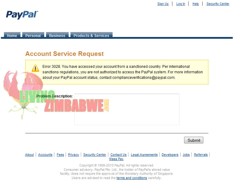 PayPal-Sanctions-on-Zimbabwe
