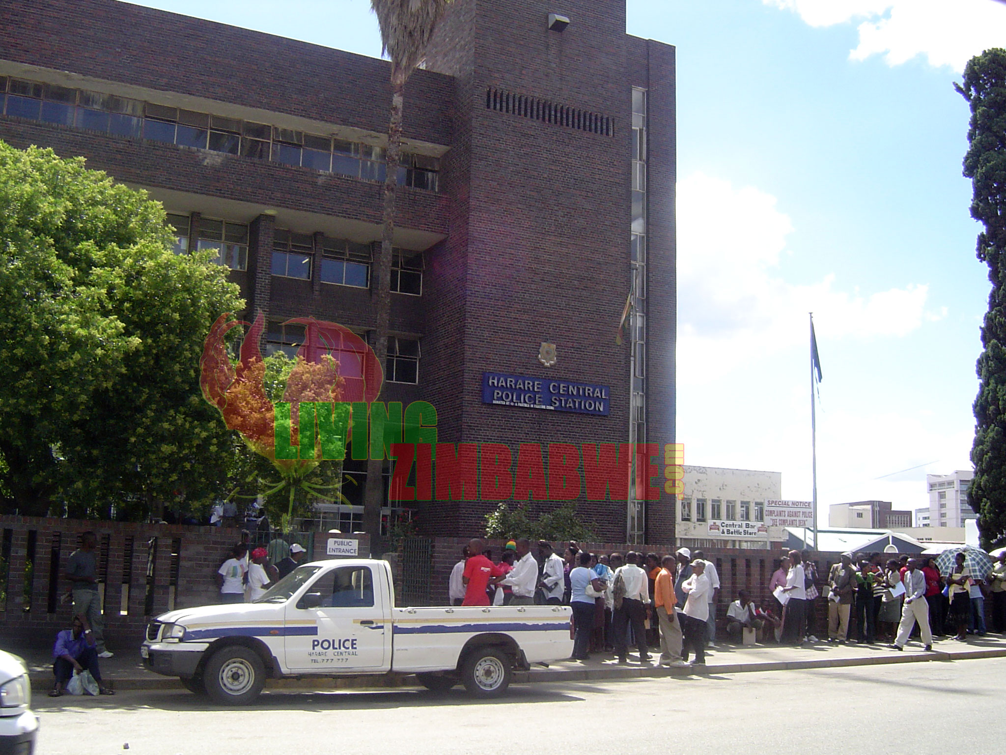 Harare Central Police Station | Zimbabwe Republic Police