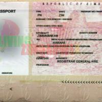Fraudulent-Fake-Zimbabwe-Passport