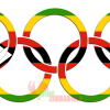 Zimbabwe-Flag-Olympic-Rings-White