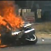 Mugabe_Motorcade_Biker_Burns_To_Death_In_Crash