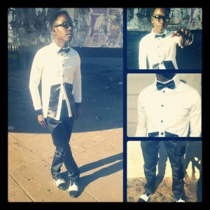 Chose, one of Harare's fashion forward fashionistas
