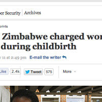 $5-per-scream-childbirth--Zimbabwe-Washington-Post