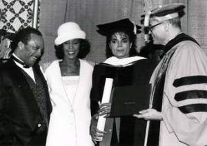 Even Michael Jackson had a doctorate