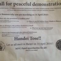 MDC-Zimbabwe-peaceful-demostrations-Harare-14-April-2016