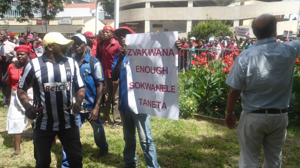MDC-youths-expressing-dismay-at-the-alleged-overstaying-of-the-ZanuPF-government