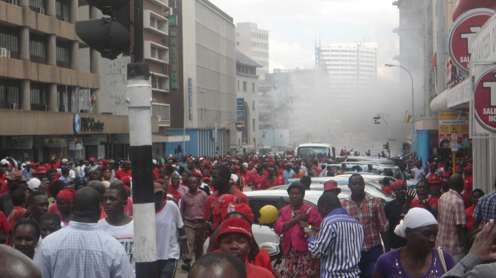 Teargas-being-sprayed-on-protesters